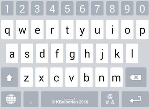 Advanced Kurdish Keyboard تصوير الشاشة 10