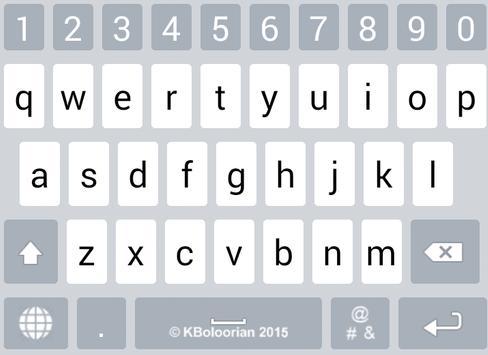 Advanced Kurdish Keyboard تصوير الشاشة 16