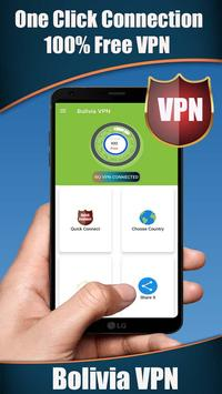 Bolivia VPN Cartaz