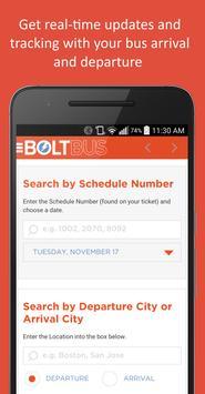 BoltBus تصوير الشاشة 2