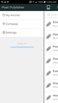 Poet Publisher screenshot 4