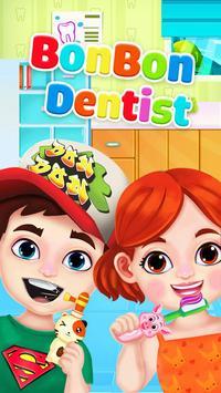 Jogo de dentista louco - Miúdos doutor Cartaz