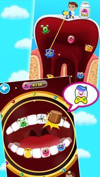 Jogo de dentista louco - Miúdos doutor imagem de tela 9