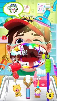 Jogo de dentista louco - Miúdos doutor imagem de tela 7