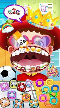 Jogo de dentista louco - Miúdos doutor imagem de tela 8