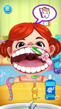 Jogo de dentista louco - Miúdos doutor imagem de tela 1