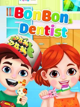 Jogo de dentista louco - Miúdos doutor imagem de tela 10