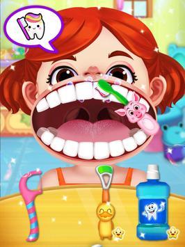 Jogo de dentista louco - Miúdos doutor imagem de tela 11