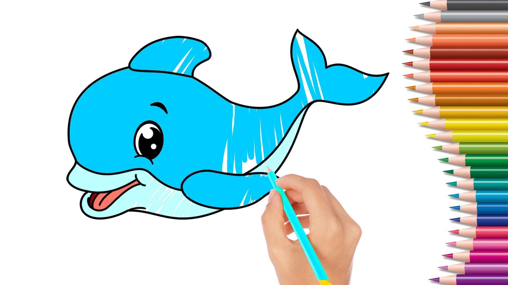 Buku Menggambar Dan Permainan Mewarnai Hewan For Android
