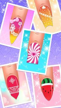 Nail salon game - Nail Art Designs screenshot 3