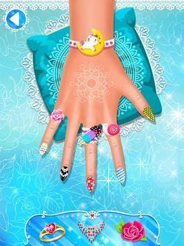 Nail salon game - Nail Art Designs screenshot 10