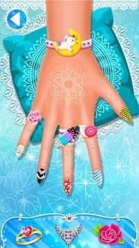 Nail salon game - Nail Art Designs screenshot 2