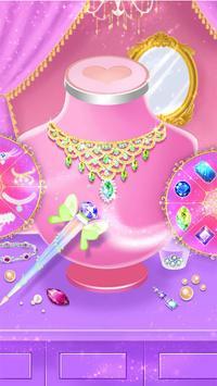 Princess dress up and makeover games screenshot 14