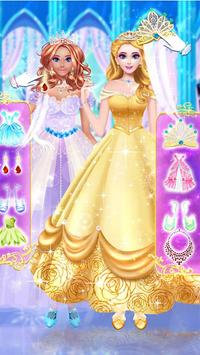 Princess dress up and makeover games screenshot 13