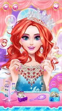 Princess dress up and makeover games screenshot 1