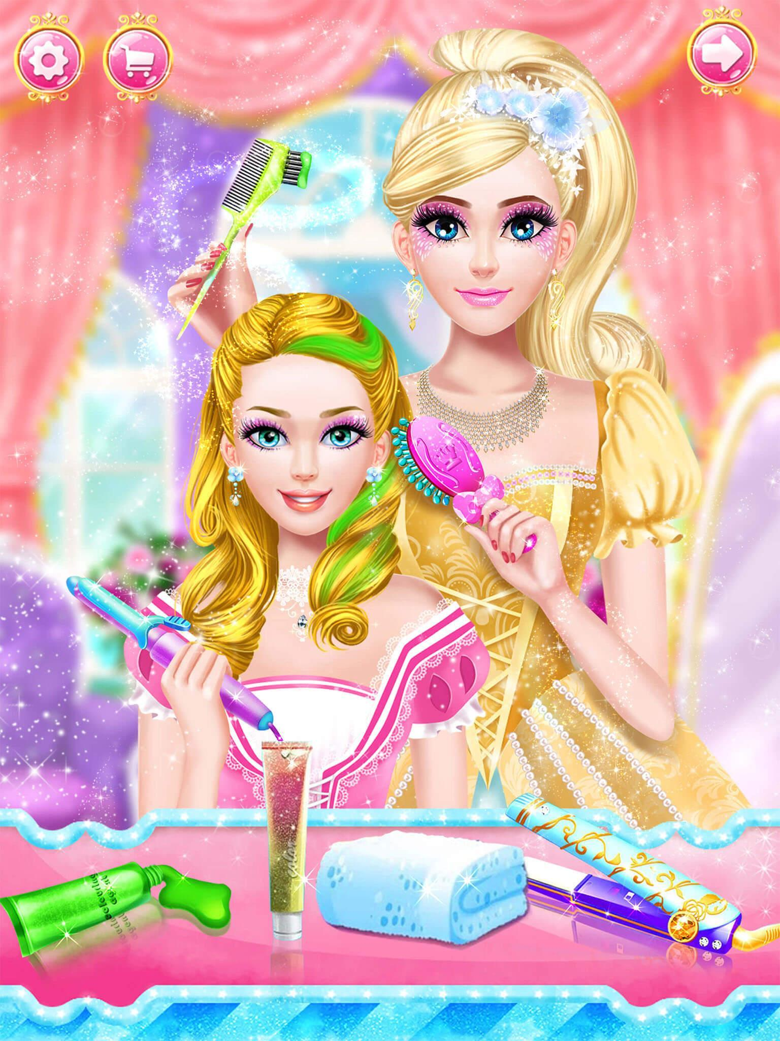 free download games of barbies dress up and make up