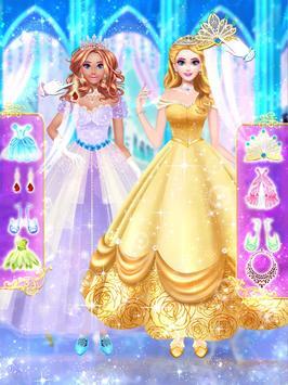 Princess dress up and makeover games screenshot 8