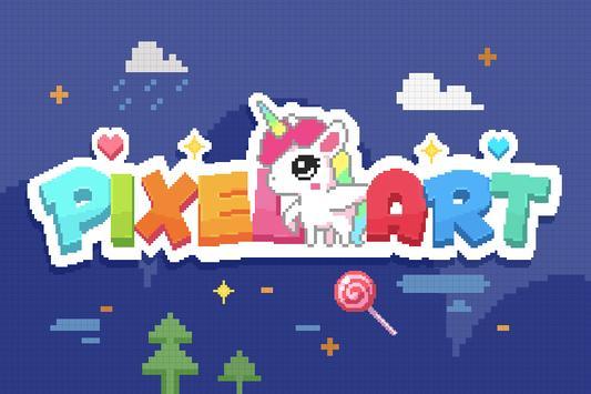 Color by Number, Pixel Color - Pixel Art poster