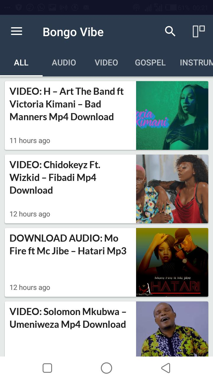 Bongovibe for Android - APK Download