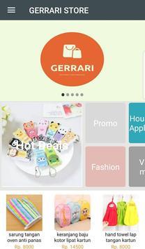 Gerrari Store screenshot 1