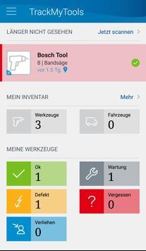 Bosch TrackMyTools poster