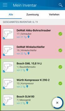 Bosch TrackMyTools screenshot 2