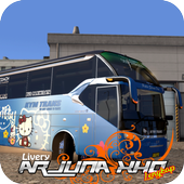 Livery Bus ARJUNA XHD Complete icon