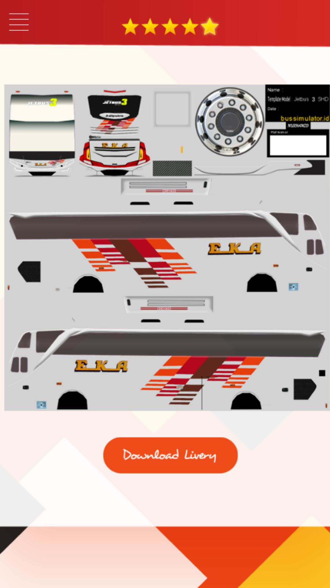 Livery Bus Efisiensi Shd For Android Apk Download