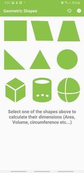 Geometric Shapes Calculator screenshot 2