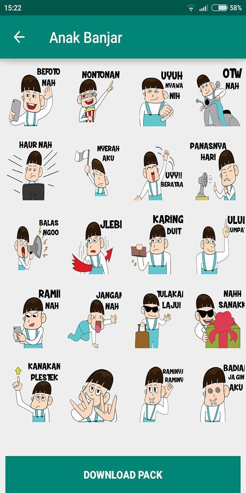 Download 61 Gambar Lucu Wa Bahasa Banjar Terbaru Gambar Lucu