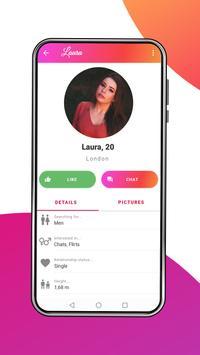 myDates - Flirt & Chat App for Singles captura de pantalla 3
