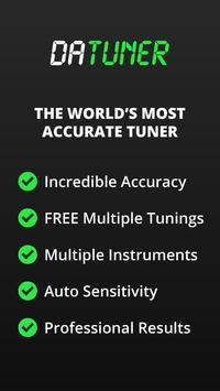 Guitar Tuner, Bass, Violin, Banjo & more | DaTuner ポスター
