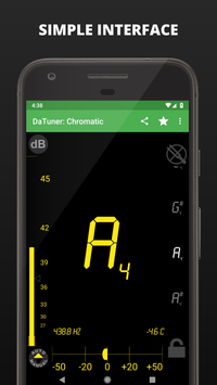 Tuner - DaTuner screenshot 1