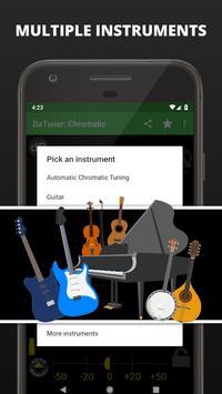 Guitar Tuner, Bass, Violin, Banjo & more | DaTuner ảnh chụp màn hình 4