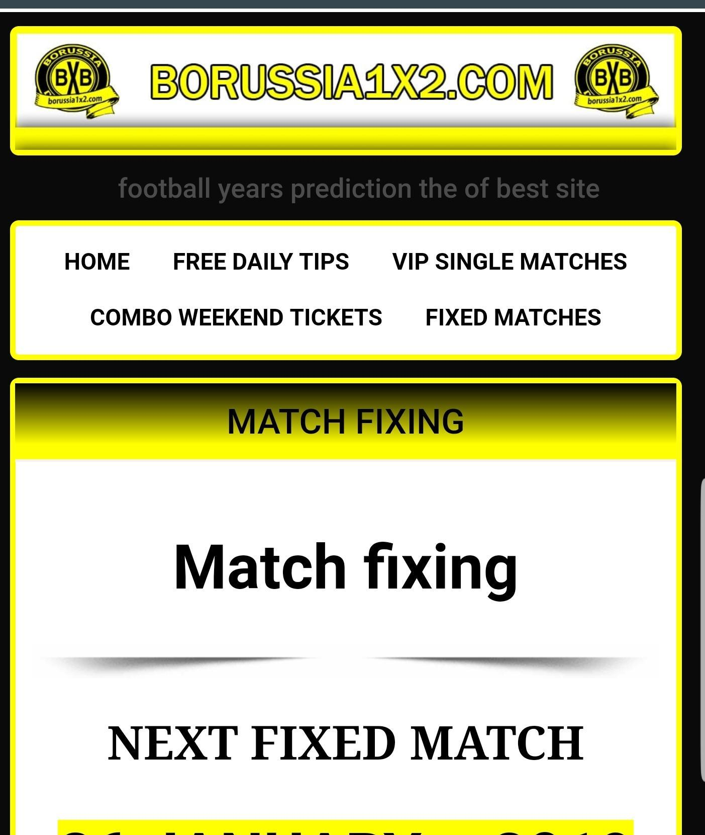 Betting soccer predictions BxB football tips 1x2 for Android