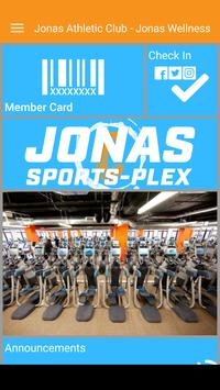 Jonas Athletic Club screenshot 1