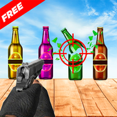 Bottle Gun Shooter Free Game icon