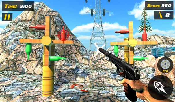 Bottle Gun Shooter Free Game screenshot 10