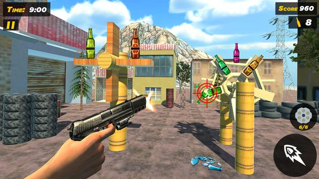 Bottle Gun Shooter Free Game screenshot 1