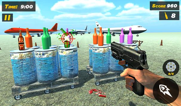 Bottle Gun Shooter Free Game screenshot 4