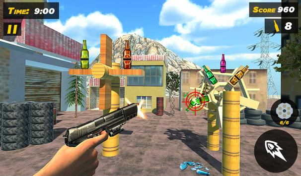 Bottle Gun Shooter Free Game screenshot 9