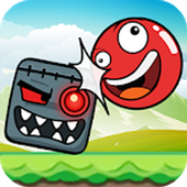 Fun Red Ball Adventure icon