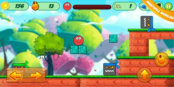 Fun Red Ball Adventure screenshot 4
