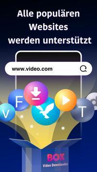 Sharego Private Browser: Box Video Downloader Plakat