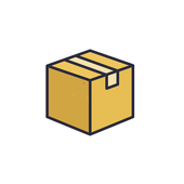 Boxed Save icon