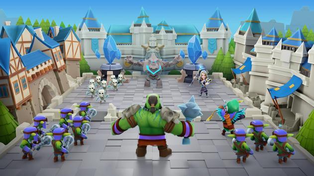 Clash of Wizards - Battle Royale captura de pantalla 16