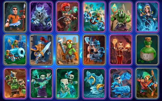 Clash of Wizards - Battle Royale captura de pantalla 17