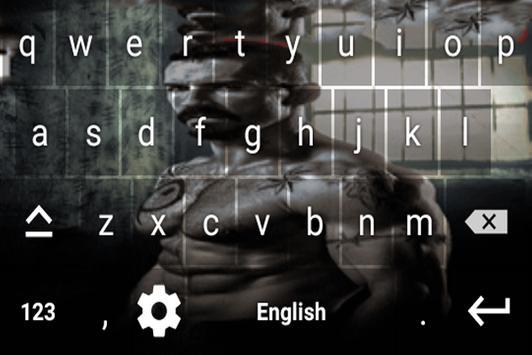 Boyka keyboard Theme screenshot 2