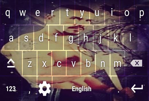 Boyka keyboard Theme screenshot 1