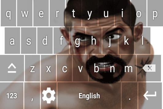 Boyka keyboard Theme screenshot 4